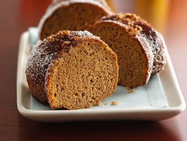 Cinnamon and Toasted Pecan-Crusted Sweet Potato Cake #GlutenFree: Cake Recipe, Gluten Free Cake, Cake Gluten, Toasted Pecan Crusted, Betty Crocker, Sweet Potato Cakes, Glutenfree, Free Cinnamon, Pecan Crusted Sweet
