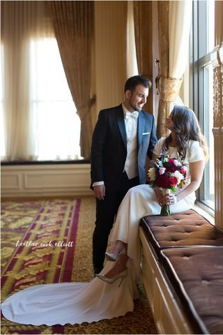 Fall in love at the Pfister Hotel. Downtown Milwaukee Weddings.