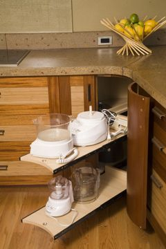 Another great storage idea I desperately need. I hate the lazy susans in the corner cabinets!
