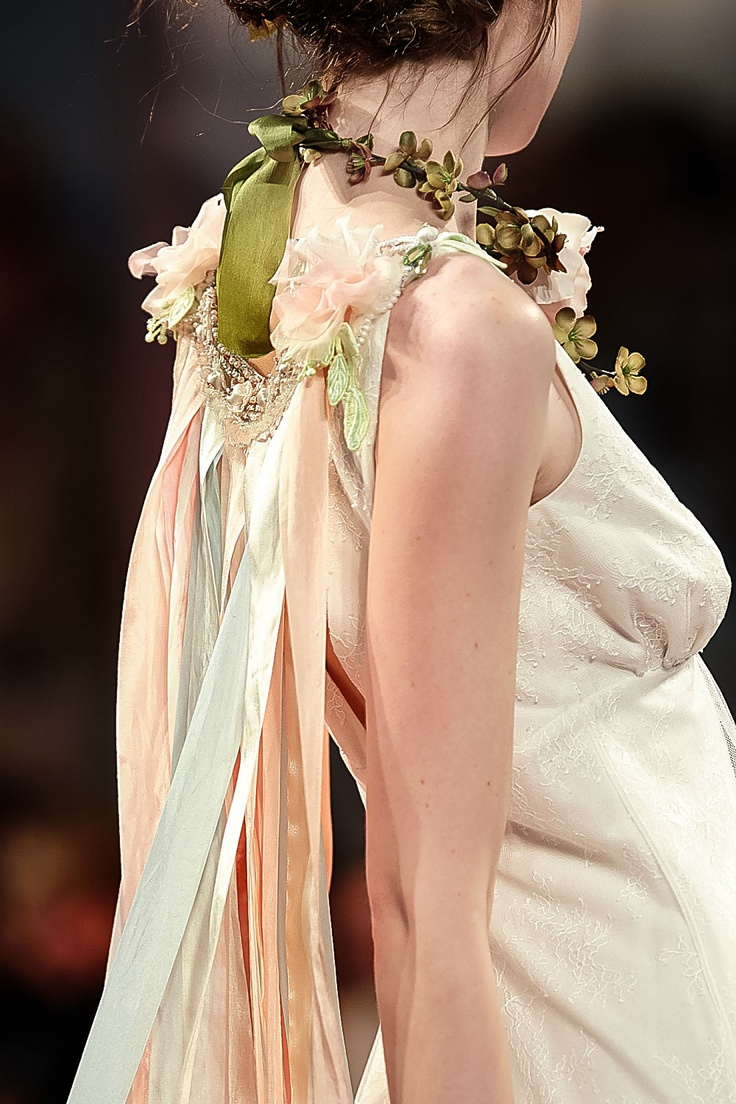 Claire Pettibone 'An Earthly Paradise' Collection 2013 - 'Aria' wedding gown