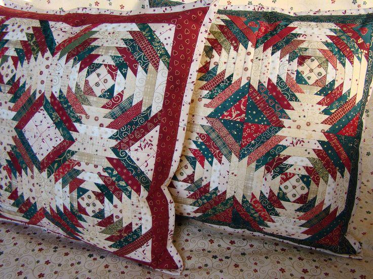 vánoční polštářek- vzor ananas