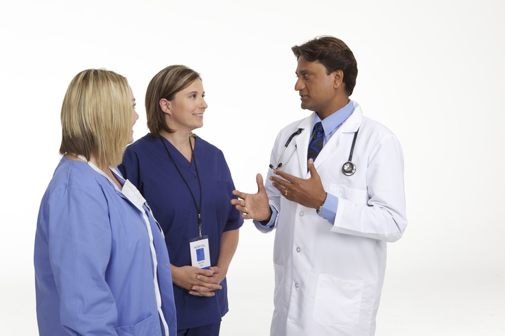 Family practice doctor at work--Jump start your family practice career with CompHealth.