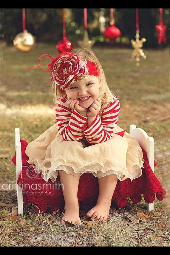Red and White Toddler Christmas Holiday by Lilgigglescouture, $29.99