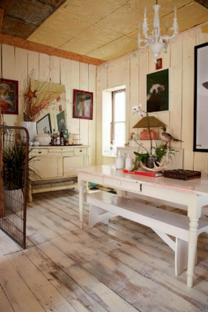 Interior House Design Ideas 09 U2013 Dining Area Equipped With Countryside  Decorative Accents