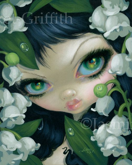 Poisonous Beauties XI: Lily of the Valley - Strangeling: The Art of Jasmine Becket-Griffith