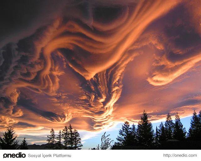 İlk Bakışta İnsana Photoshop Marifeti Gibi Görünen 6 Eşsiz Bulut Formu