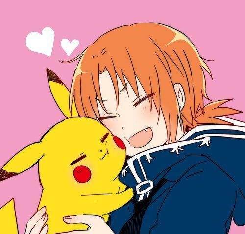 Ensembles stars Leo and Pikachu