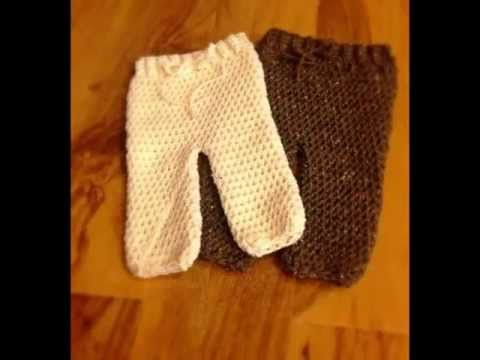 Crochet Pattern *Baby Pants*