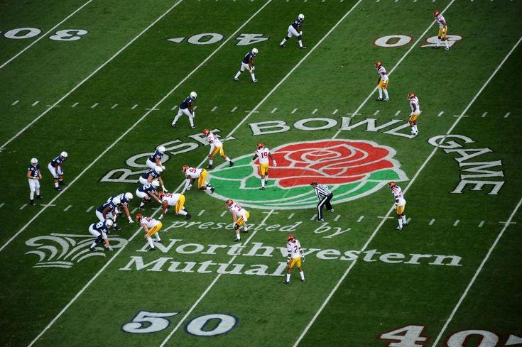College Football Playoff. #RoseBowl Game Logo  https://rose-bowl.net/