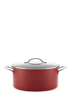 Farberware  New Traditions Speckled Aluminum 12-Qt. Covered Stockpot R