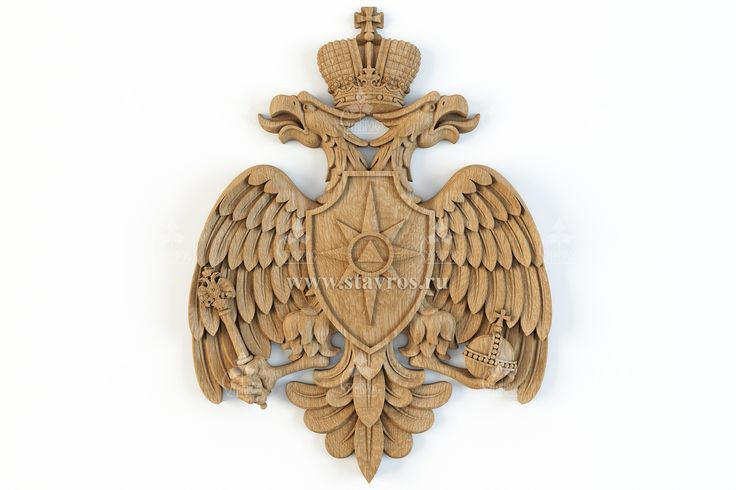 Герб МЧС России #герб #эмблема #геральдика #МЧС The emblem of Ministry of emergency situations of Russia #emblem #heraldry #wood