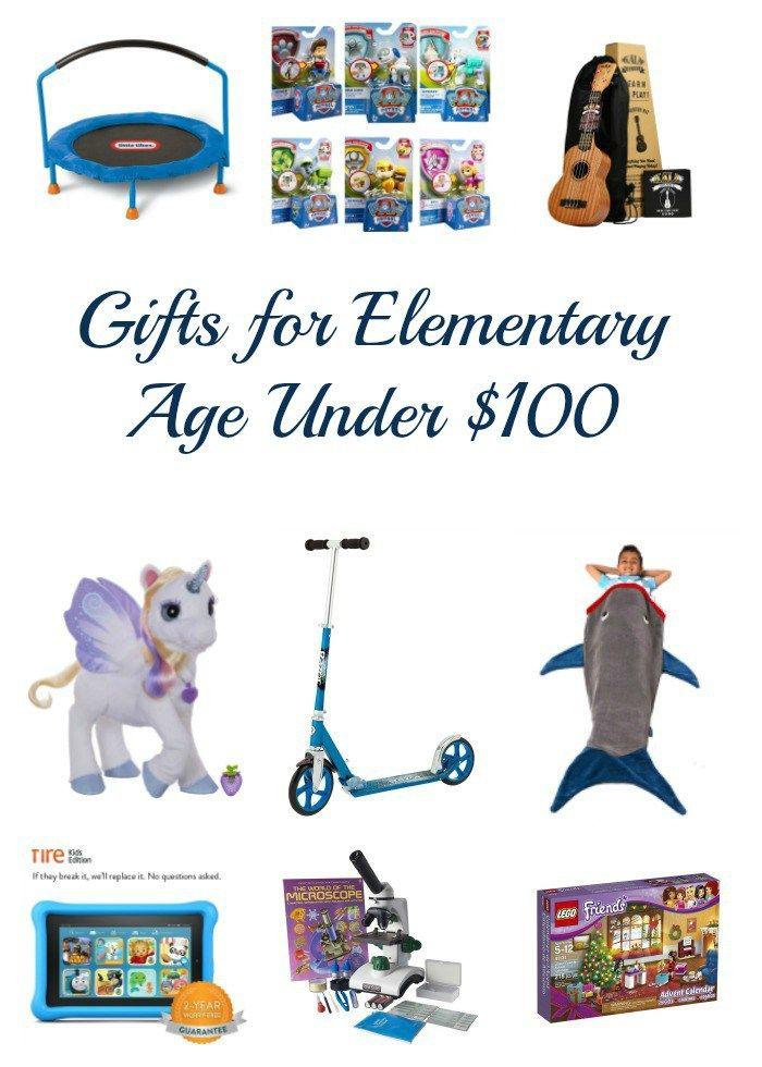 Gift Ideas for Elementary Ages
