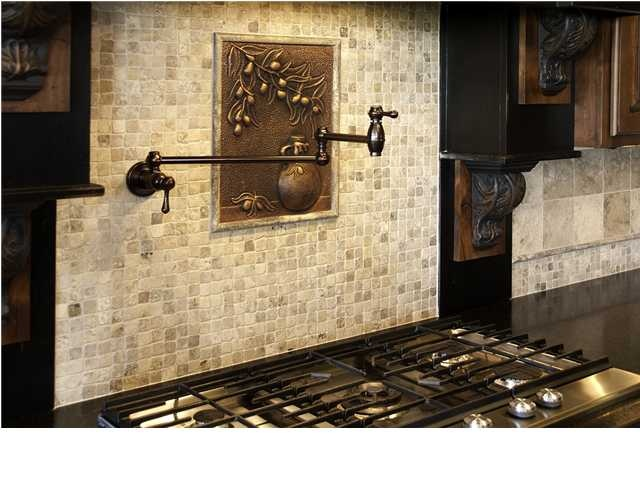Pot Filler Backsplash http://www.cimaventuresinc.com/ #kitchen #storage #kitchenstorage #interiordesign #newhomes #homes #luxury #luxuryhomes #realestate #orangecounty