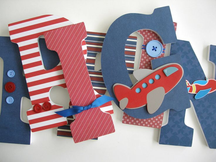 Best 25+ Decorate wooden letters ideas on Pinterest | Decorating ...