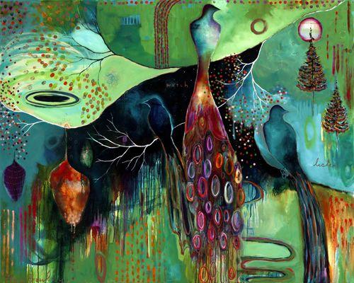 """Light Trio""  by Flora Bowley, 2011"