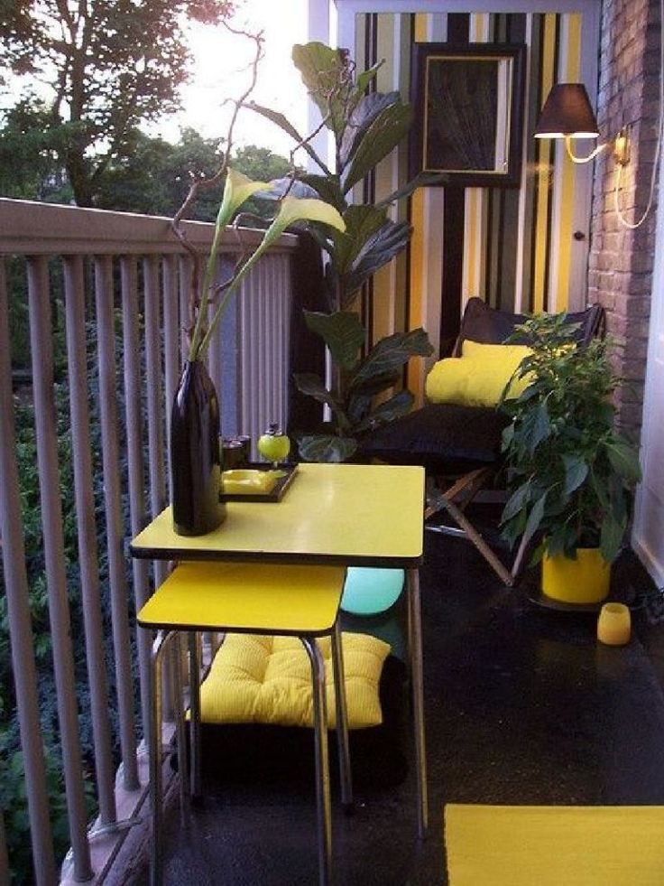Inspirational How to Decorate Balcony