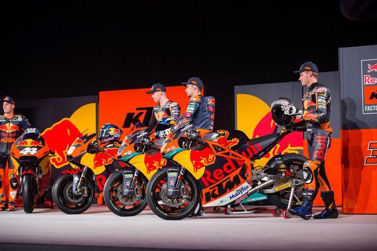 MotoGP:Red Bull KTM Factory Teamの最新マシンが公開!
