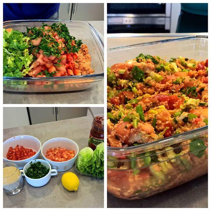 Für alle Multi-Kulti-Gourmets -  Pollys scharfer Bulgur-Salat  Zum Rezept: http://www.gregkocht.de/recipes/936/Bulgur-Salat---nicht-nur-f%C3%BCr-hei%C3%9Fe-Tage