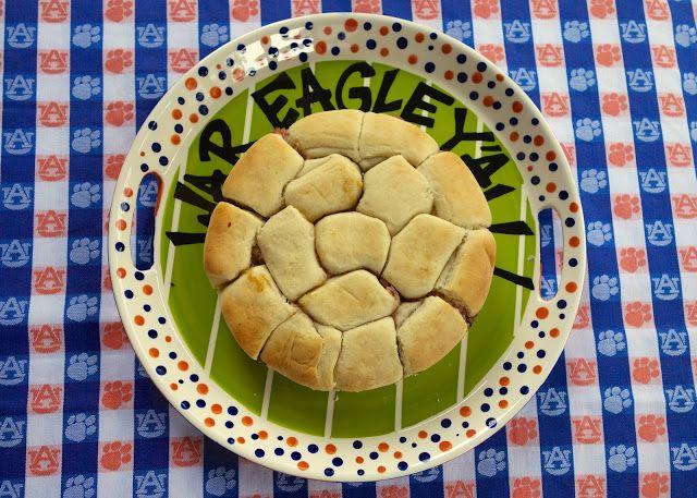 Brown Sugar Ham Rolls {Football Friday} | Plain Chicken