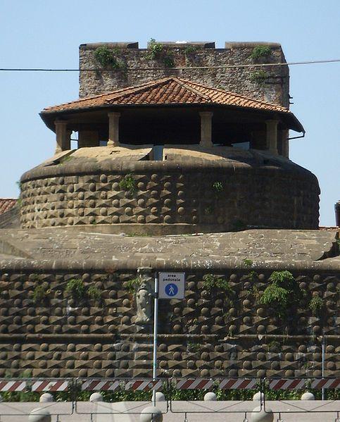Fortezza da Basso paikassa Firenze, Toscana