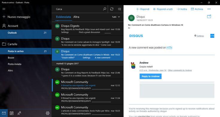 Aggiornamenti App Windows 10 | Posta e Calendario con diverse novità, Foto con Fluent Design