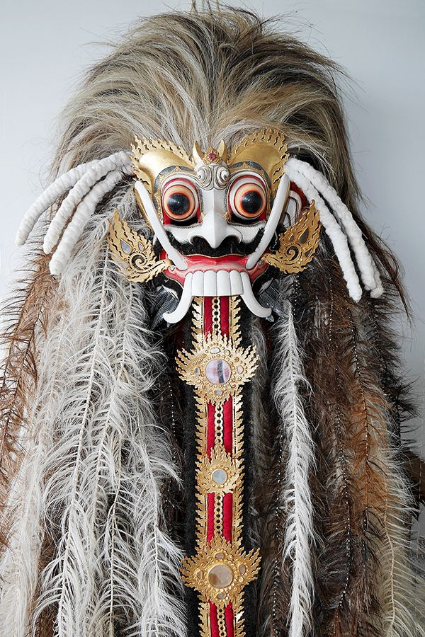 Rangda Costume Materials: Painted wood, hair, cloth Location: Bali