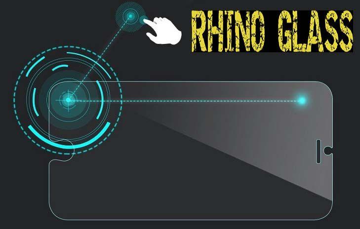 Mica de cristal Templado para Iphone 6 & 6 Plus Rhino Glass Back
