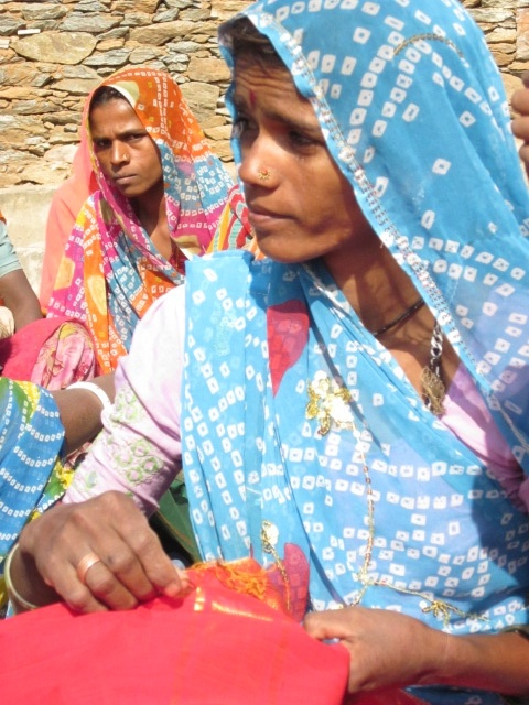 Sadhna Woman artisan. Udaipur.