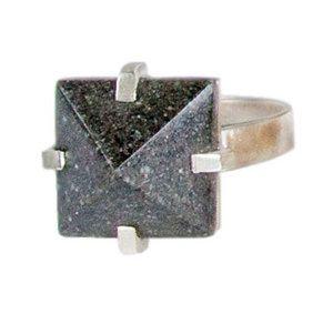 Mamaku Ring Silver — Marama