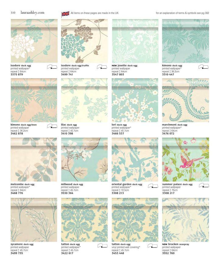 663 mejores im genes sobre wallpaper muros en pinterest - Laura ashley papel pintado ...