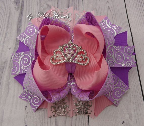 Sofia the first Bow Sofia the first  Party Princess by SilkHands