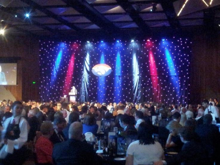 Western Bulldogs Best & Fairest night 2012 at Crown Palladium
