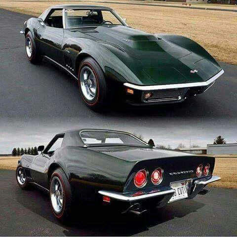 Vintage Chevy Corvette