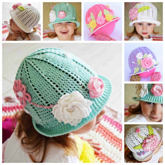 Crochet Cloche Hat Patterns Free Video Tutorial   The WHOot