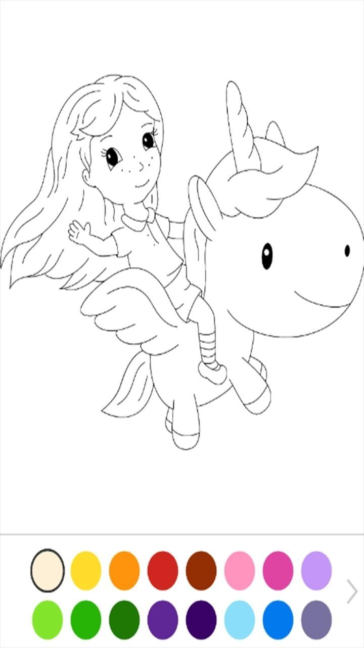 Unicorn Number Coloring Book Apk Download | Best Coloring ...