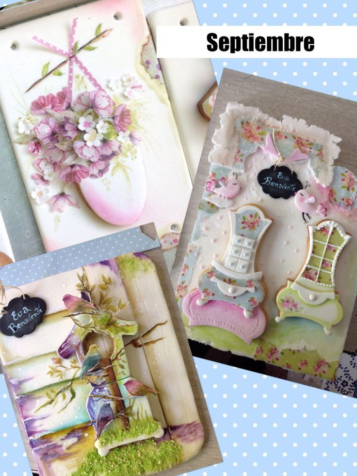 Cookies Vintage Shabby Chic on Cake Central