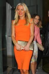 Denise Van Outen's Orange Dress: Get the Look