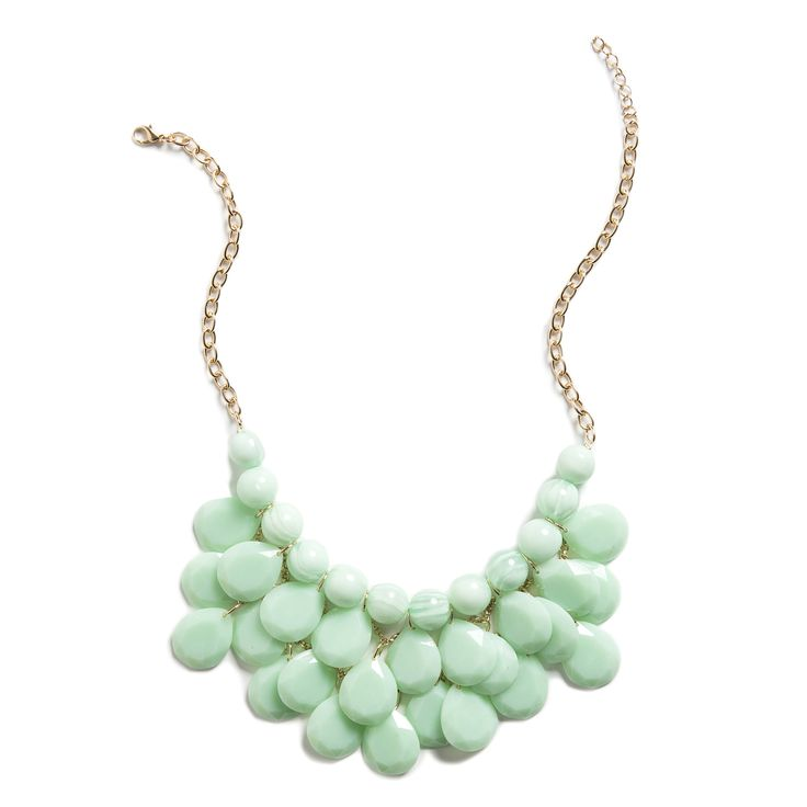 Christy Layered Bauble Necklace.