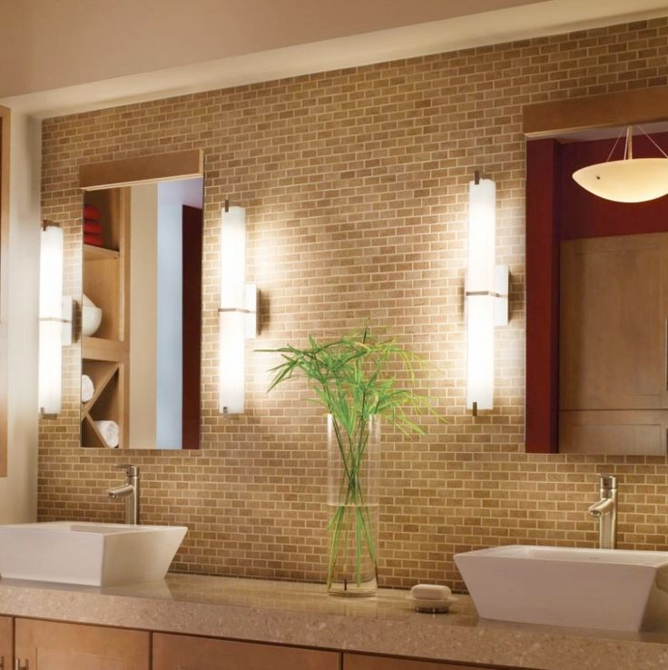 bathroom remarkable bathroom lighting ideas. bathroom captivating metro lighting design brick wall concept with indoor plants decor remarkable ideas a