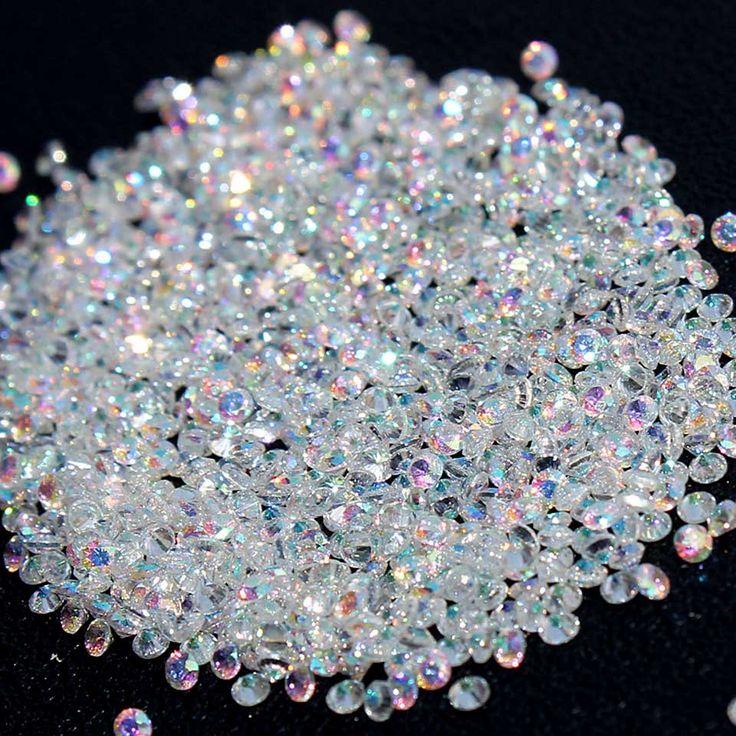 AB Micro Steentjes voor Nagels Kristallen Glas Steentjes Nail Art Decoraties Nail Design Nagels Decoraties Komen MJZ001