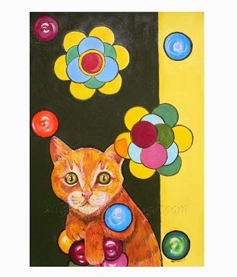 SolmilarArt: Moje koty