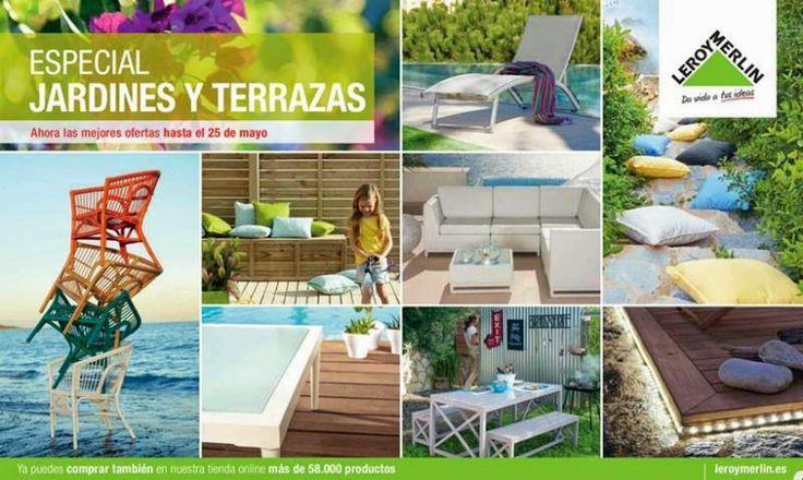 Leroy merlin especial jardines y terrazas 2015 consulta for Ofertas leroy merlin