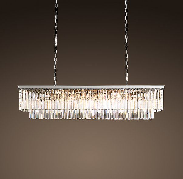 Glass Chandeliers For Dining Room