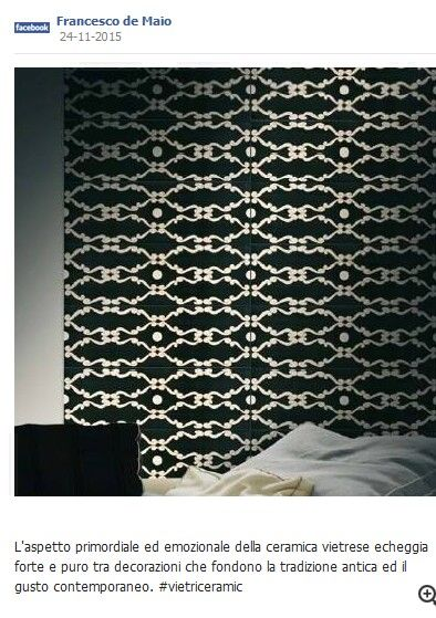 #ceramicafrancescodemaio | Ceramica Francesco De Maio | #vietriceramic su www.tegels