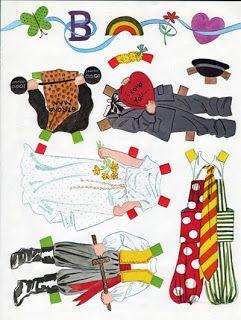 Neighborhood Kids  WHITMAN BOOK~VINTAGE NEIGHBORHOOD KIDS PAPER DOLLS 1980