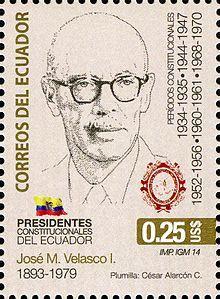 José María Velasco Ibarra - Wikipedia