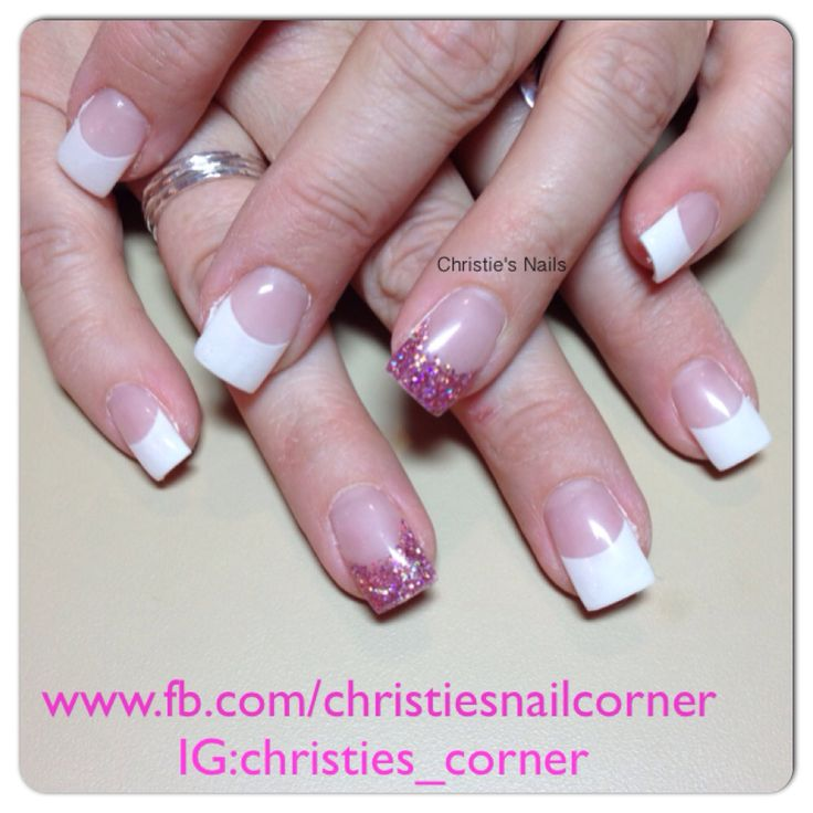 Pretty pink nails from the light elegance fall collection