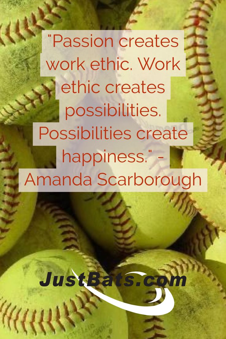 Passion creates work ethic. Work ethic creates possibilities. Possibilities create happiness. - Amanda Scarborough