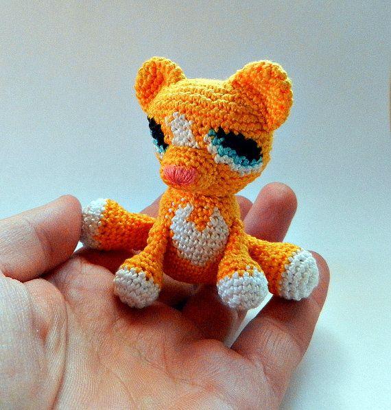 Little crochet lion The Lion King Simba Crochet by MajjaCrochet