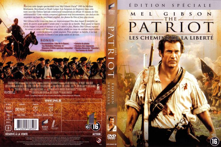 DVD PATRIOT | Jaquette DVD de The patriot v3 - Cinéma Passion